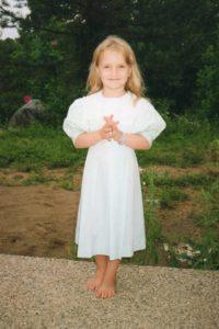 Faerin in Kentucky, age 4