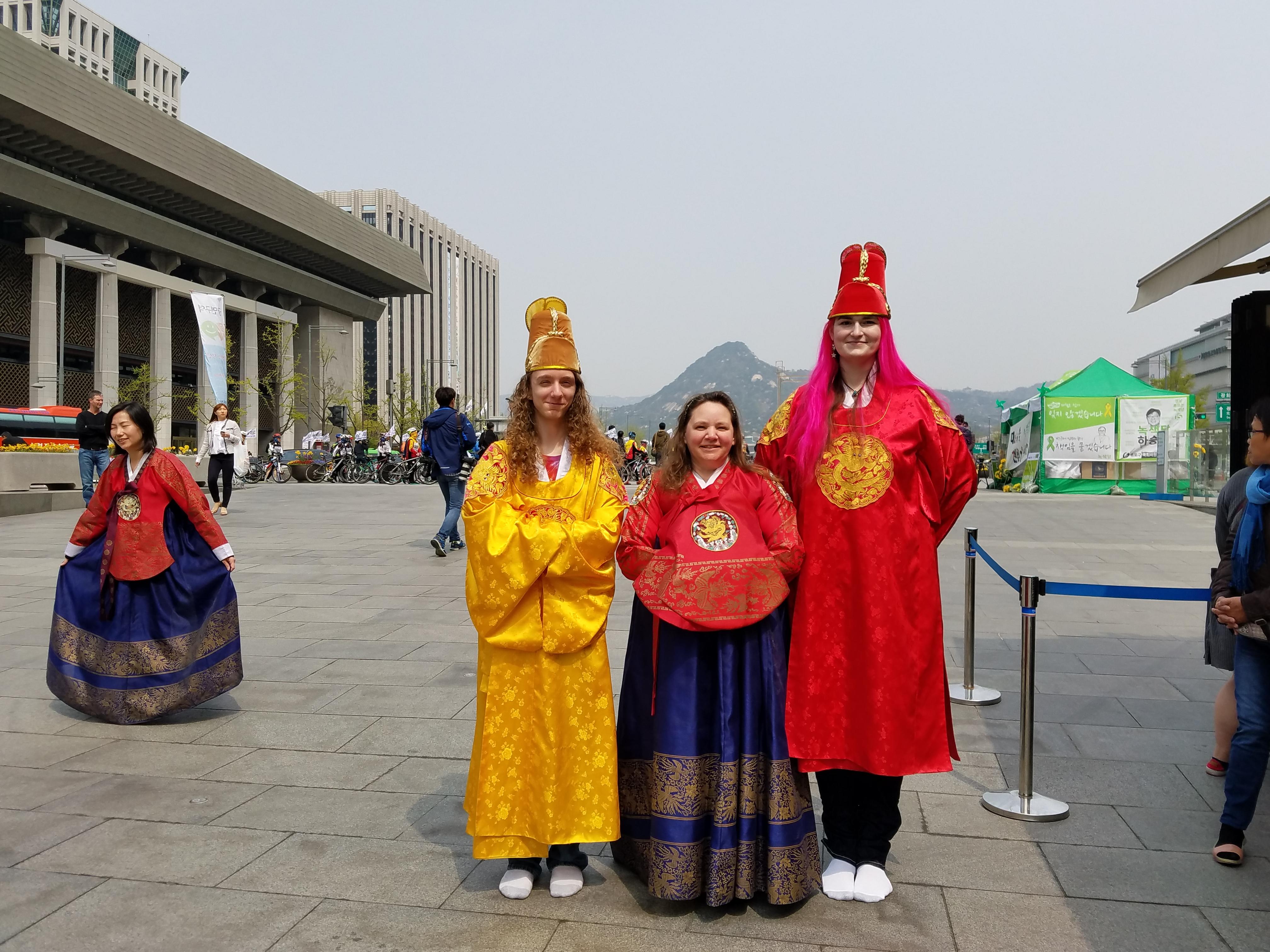 so, yeah, Korea…